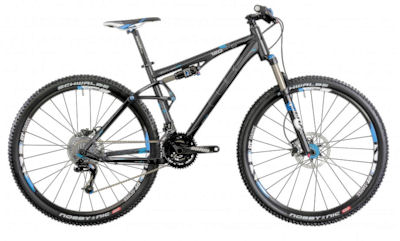 Cube AMS 29 Race black anodized 17